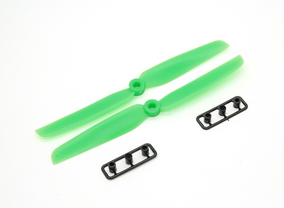 Gemfan Пропеллер 6x3 Зеленый (CW / CCW) (2 шт)