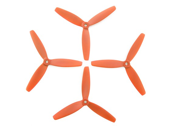 Lumenier FPV Гонки пропеллеры 5040 3-Blade Оранжевый (CW / CCW) (2 пары)