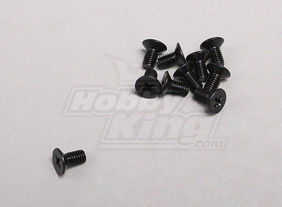 5x10mm Винт с потайной головкой (10шт / уп)
