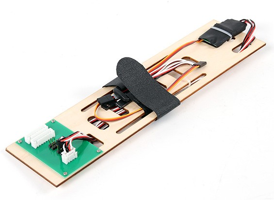 Hobbyking Cobra 90mm EDF - Замена батареи лотка и PCB
