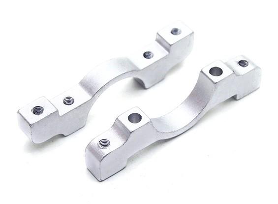 Серебряный анодированный CNC Алюминиевая пробка Зажим 16мм Диаметр