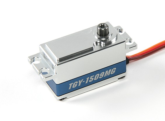 Turnigy ™ TGY-1509MG HV / BB / DS / MG Car Servo 12.8kg / 0.07sec / 55г
