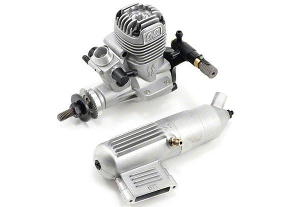 OS Max 15LA двухтактный двигатель зарева
