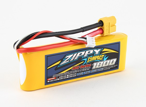 ZIPPY Компактный 1800mAh 2s 40c Lipo обновления