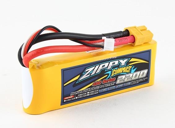 ZIPPY Компактный 2200mAh 2s 40c Lipo обновления