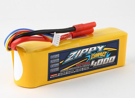 ZIPPY Компактный 4000mAh 4с 40c Lipo обновления