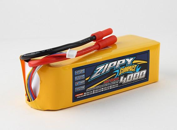 ZIPPY Компактный 4000mAh 6s 40c Lipo обновления