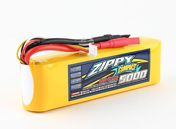 ZIPPY Компактный 5000mAh 3s 60c Lipo обновления