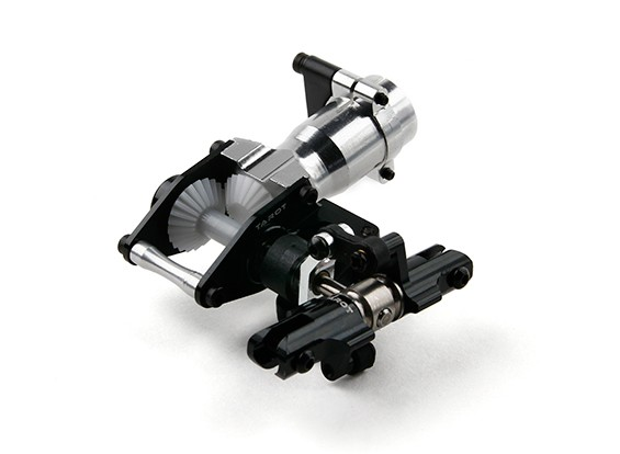 Таро 450 PRO Полный Металл хвостовое оперение (Torque Tube Version) - черный (TL45038-01)