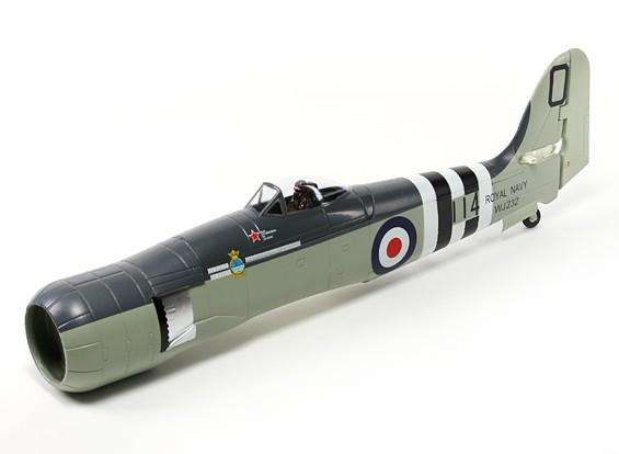 Avios Hawker Sea Fury 1200мм - Фюзеляж