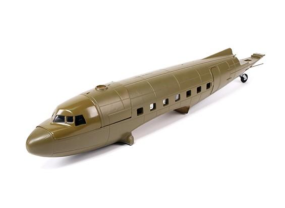 HobbyKing ™ C-47 1600мм - Фюзеляж