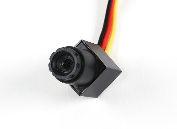 Мини CMOS FPV камера 520TVL 90deg поле зрения 0.008Lux 11,5 х 11,5 х 21 мм (NTSC)
