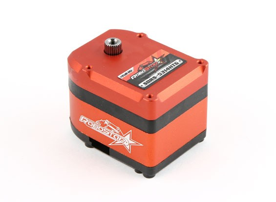 RoboStar SBRS-5314HTG 280 ° Digital Metal Gear High Voltage Робот Servo 53.1kg / 0.14Sec / 81g