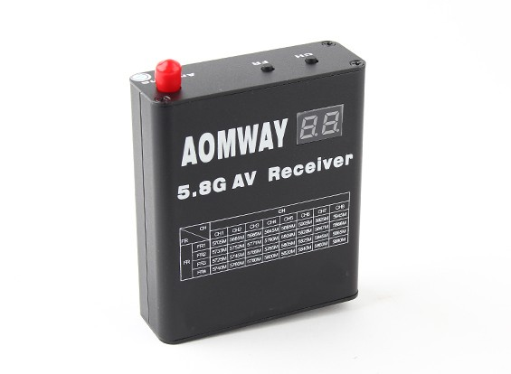 Aomway DVR 5.8GHz 32ch видео ресивер со встроенным видеомагнитофоном