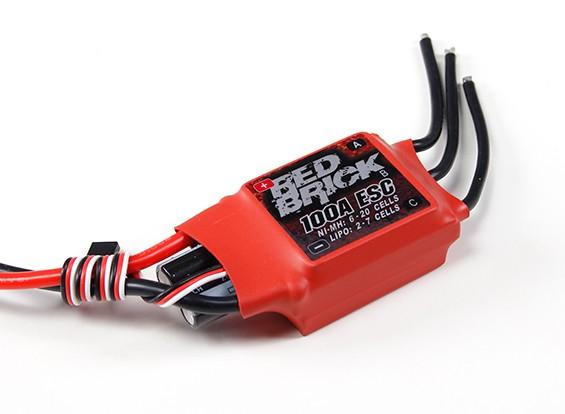 HobbyKing Red Brick 100A ESC (Opto) V2