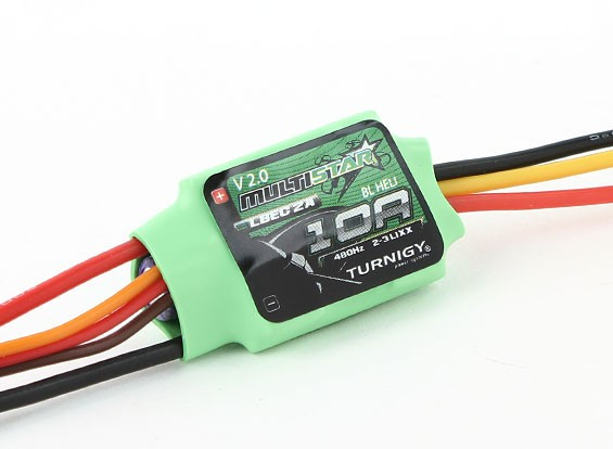 Turnigy Multistar 10 Amp Multi-ротор Brushless ESC 2-3S