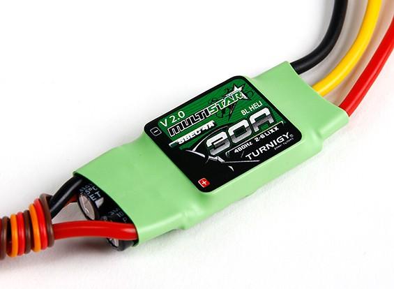 Turnigy Multistar 30 Amp BLHeli Multi-ротор Brushless ESC 2-6S V2.0