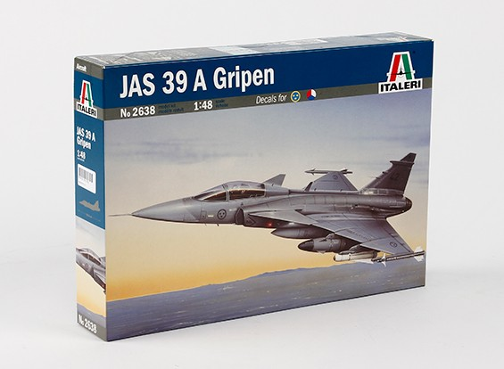 Italeri 1/48 Scale JAS 39 Gripen пластиковые модели Kit