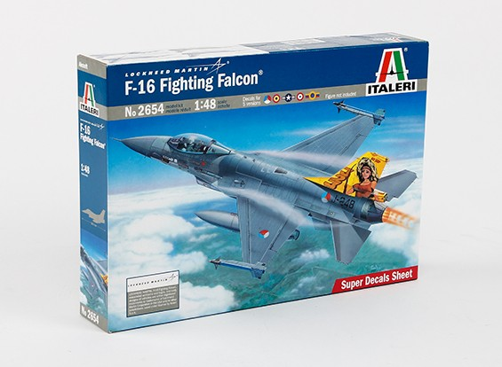 Italeri 1/48 Шкала F-16 Fighting Kit Фалькон пластиковые модели