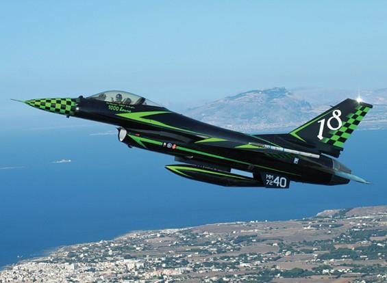 Italeri 1/48 Шкала F-16 Fighting Falcon Special Kit Цвета Модель
