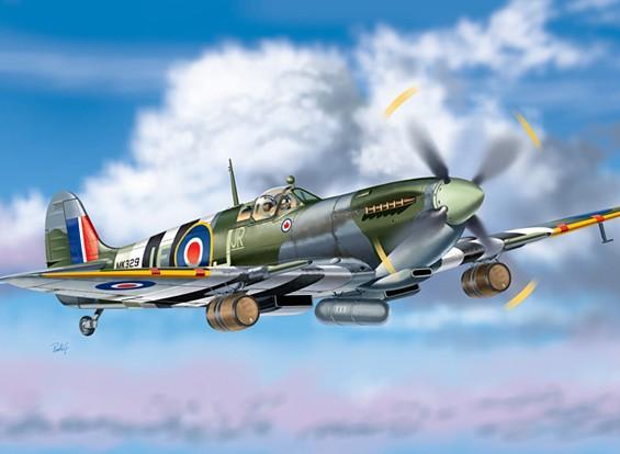 "Italeri 1/48 Масштаб Spitfire Mk. IXc ""Beer Truck"" Kit пластиковые модели"