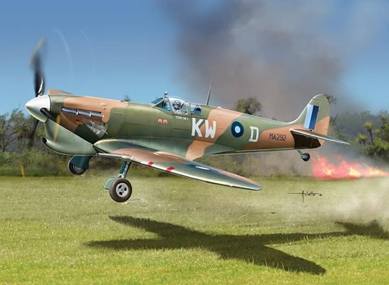 Italeri 1/48 Масштаб Spitfire Mk.Vc Plastic Model Kit