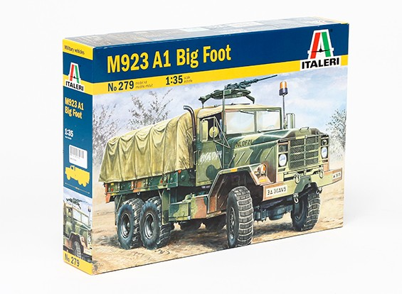"Italeri 1/35 Масштаб M923 A1 ""Big Foot"" Автомобиль Model Kit"