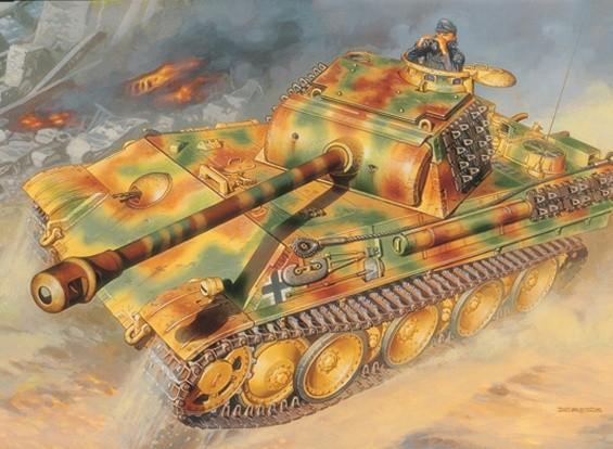 Italeri 1/35 Масштаб Pz. Kpfw. V Panther Ausf. G Plastic Model Kit