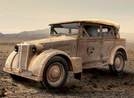"""Italeri 1/35 Масштаб Fiat 508C """"Coloniale"""" Кит пластиковые модели"""