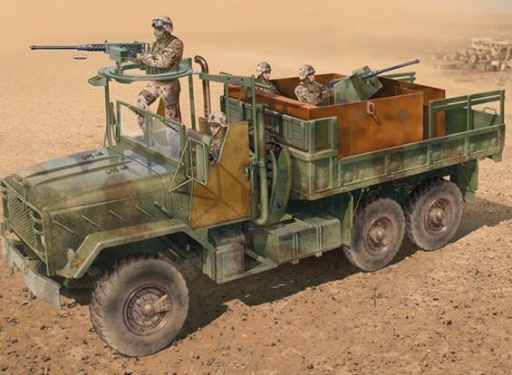 Italeri 1/35 Scale Armored Gun Truck Plastic Model Kit