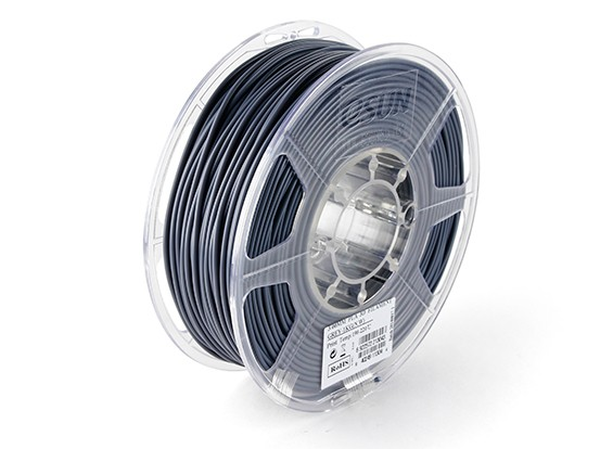 Esun 3D принтер Волокно Серый ПЛМ 3мм 1KG Ролл