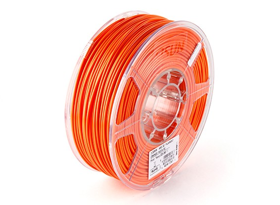 Esun 3D принтер Волокно Оранжевый 3 мм ABS 1KG Ролл