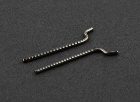 HobbyKing® силы Ракеты 650EP - Control Rod Set (2 шт)