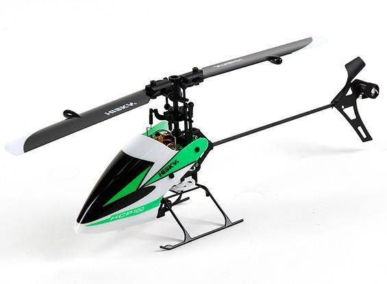 HiSky HCP100 Collective Pitch 6-канальный Flybarless вертолет Mode 2 (готовый к полету)