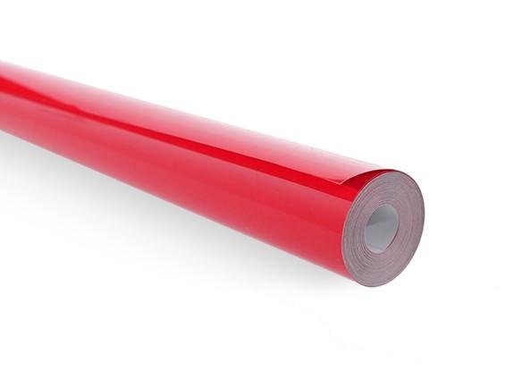 Покрывающей пленки Solid Ярко-красный (5mtr) 102