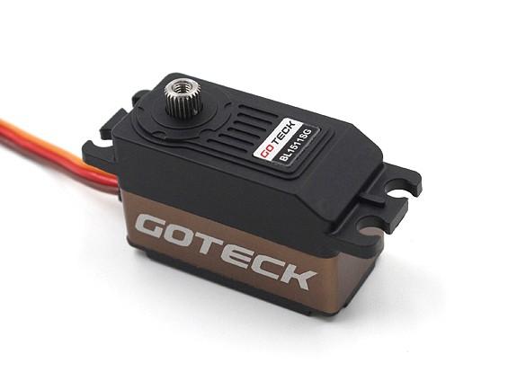 Goteck BL1511S Digital Бесщеточный MG High Torque низкопрофильного автомобиля Servo 45g / 12кг / 0.07sec