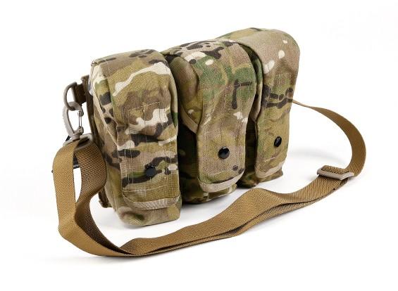 Спецназ Молле AK Тройной Mag мешок (Multicam)
