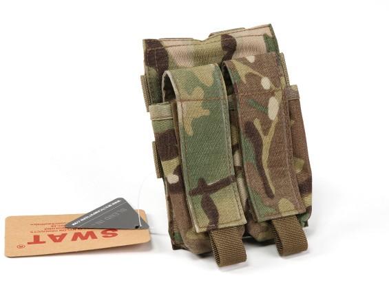 Спецназ 500D нейлон Молле Handgun Двойной Mag мешок (Multicam)