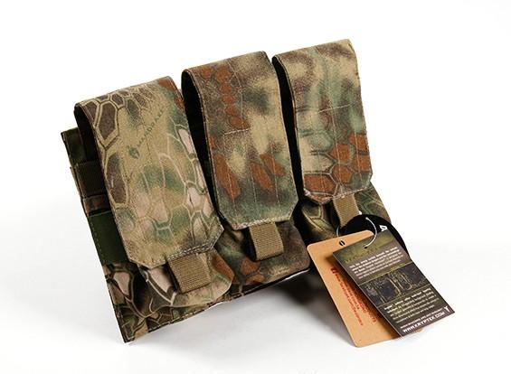 Спецназ Molle M4 Тройной Mag Pouch (Kryptek Mandrake)