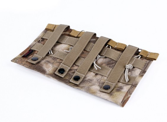 Спецназ Open Top M4 Молле Quad подсумок (Kryptek Highlander)