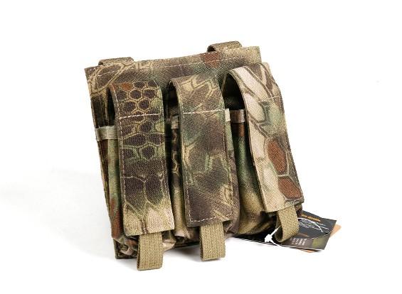 Спецназ 500D Нейлон Молле Handgun Тройной Mag мешок (Kryptek Mandrake)