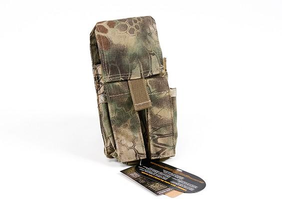 Спецназ Молле двойной стек Mag сумка M4 / Пистолет (Kryptek Mandrake)