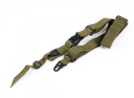 Спецназ быстрое освобождение тактический слинг для фиксированного запаса (оливковый)
