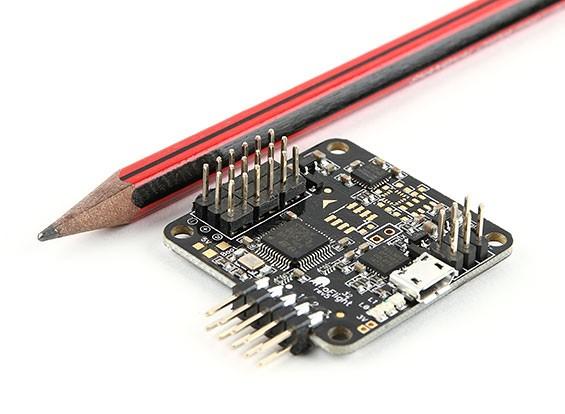 AfroFlight Naze32 Rev 5 Acro FunFly контроллер - версия под пайку (Вертикальная Pin)