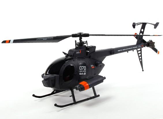 FX070C 2,4 4CH Flybarless RC вертолет (готов к полету)