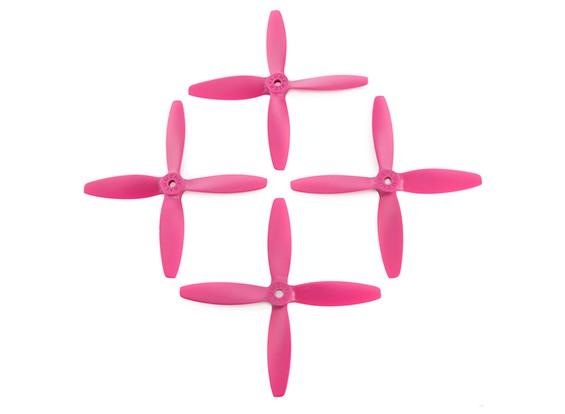 Lumenier FPV Гонки пропеллеры 5040 4-Blade Розовый (CW / CCW) (2 пары)