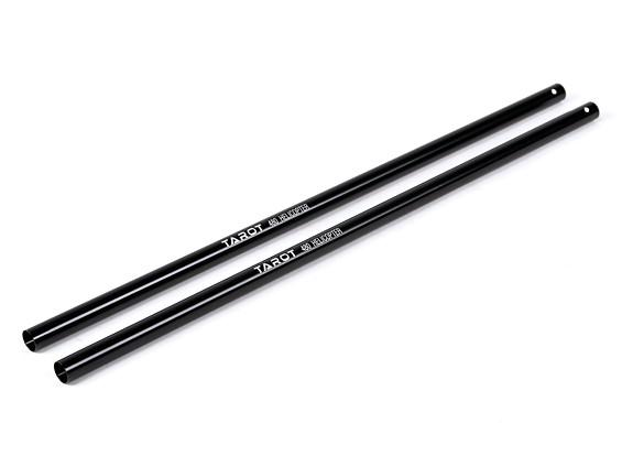 Таро 480 Хвост Boom - черный (TL48002-01) (2 шт)