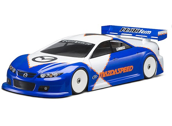 Праформу Mazdaspeed6 Clear Body для 190mm TC