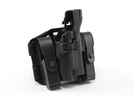 Эмерсон BH стиль УРОВЕНЬ 3 Оружие Light кобура комплект (Глок, черный)