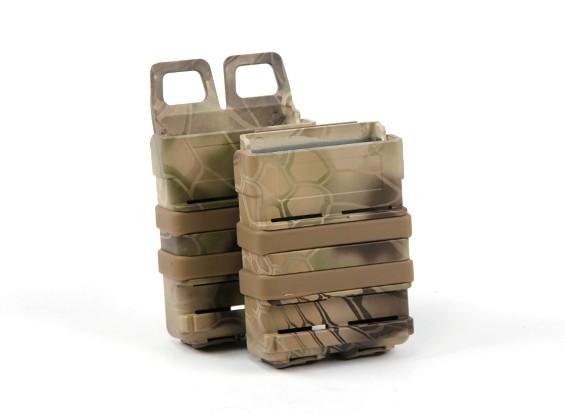 FMA FastMag журнал кобура для M4 / AR15 (Kryptek Highlander, 2 шт комплект)
